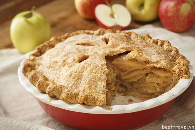 Hình 1 – Bánh táo đơn giản mà thơm ngon