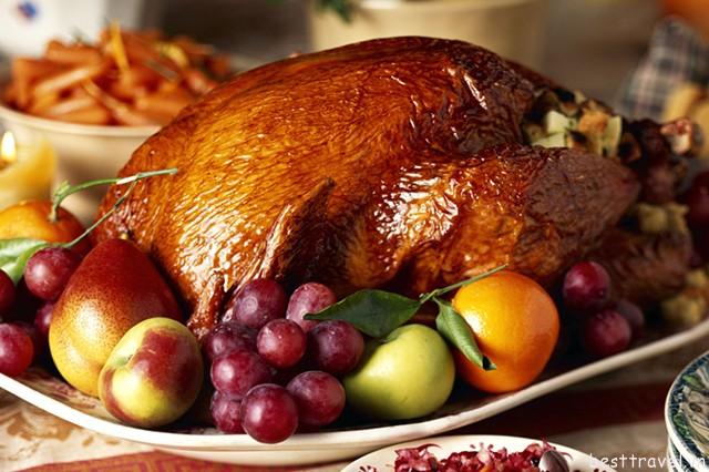 Hình 10 – Những món ăn giàu năng lượng trong ngày Thanksgiving