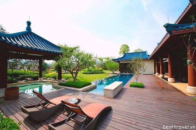 Hình 3 - Imperial Springs 90 phòng suite, có 37 biệt thự, mỗi nơi đều có nét đẹp riêng