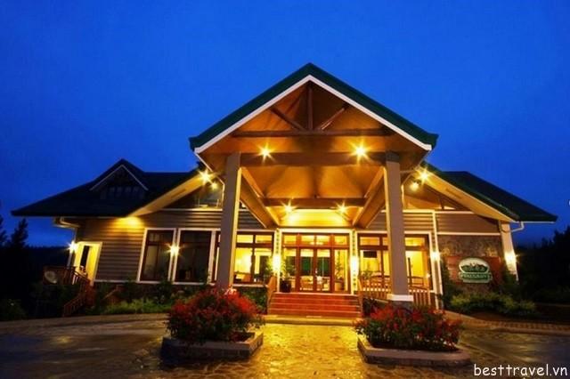 Hình 4 - Khách sạn Mountain Lodge là một điểm nghỉ dưỡng tuyệt vời