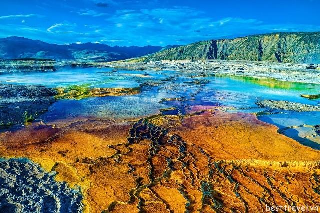 Hình 5 - Vẻ đẹp huyền bí của Yellowstone