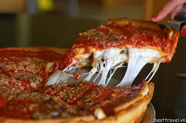 Hình 6 – Pizza kiểu Chicago