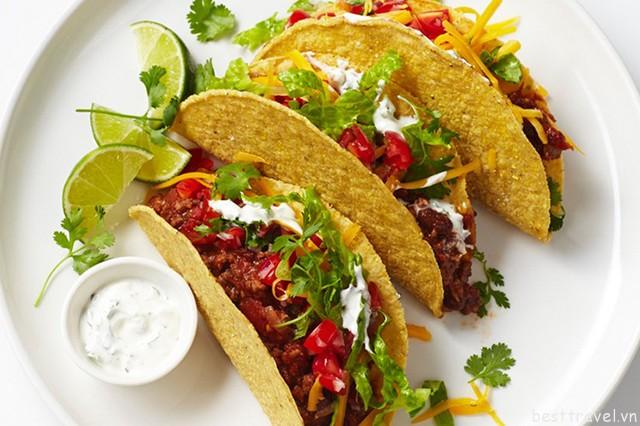 Hình 9 – Chiêm ngưỡng những chiếc bánh Tacos hấp dẫn
