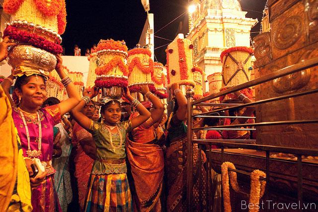 Lễ hội Karaga Festival đặc sắc của Bangalore