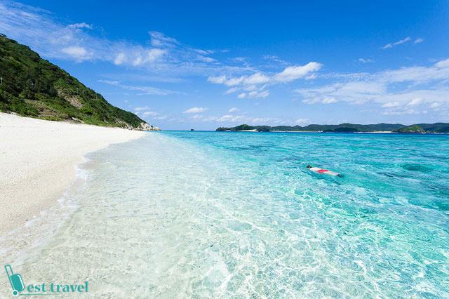 Thế này mà ai bảo Nhật không có thiên đường du lịch biển?