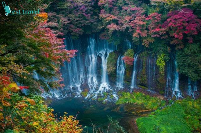 Shiraito, thác nước nhân tạo đẹp nhất thế giới