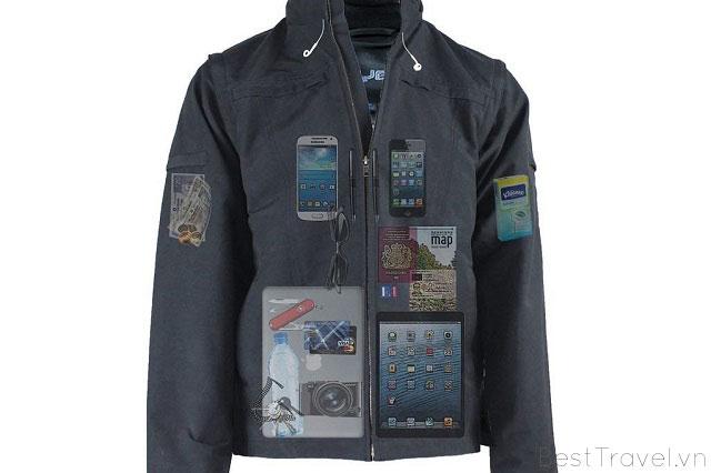 Quần áo có túi bí mật sẽ giúp bạn cất giữ tư trang tốt hơn