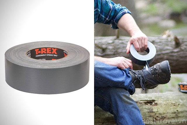 Băng keo duct tape có thể giúp bạn dấu giày khi bạn bị theo dõi