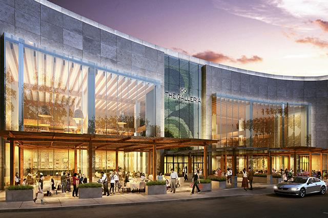 The Galleria – trung tâm mua sắm lớn nhất bang Texas.