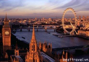 Khám phá 3 điểm đến hấp dẫn ở London