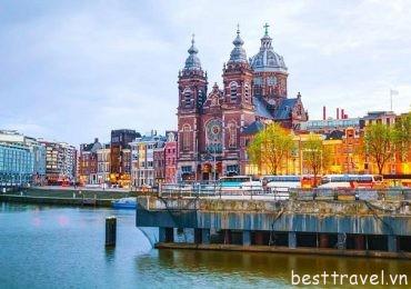 Lý do Amsterdam chiếm trọn trái tim du khách