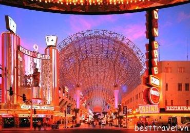 Những điểm giải trí hàng đầu ở Las Vegas