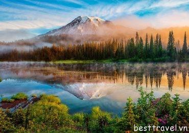 Chiêm ngưỡng khung cảnh thiên nhiên lãng mạn ở Washington