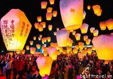 Đến Đài Loan khám phá những ngày hội lớn độc đáo