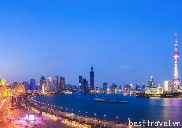 Cảnh đẹp làm say đắm lòng người ở Thượng Hải