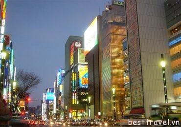 Oanh tạc các khu mua sắm sầm uất ở Nhật Bản