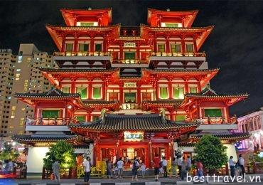 Viếng thăm 3 ngôi chùa linh thiêng nhất ở Singapore