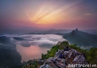 Bukit Tabur ngọn núi hoang sơ kỳ vĩ nhất ở Malaysia