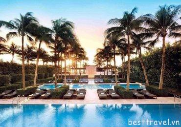 Top 3 resort tốt nhất bên bãi biển ở Miami