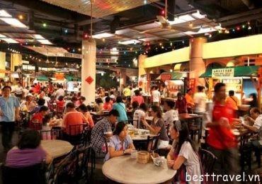 Những khu ăn uống giá cực rẻ ở Singapore
