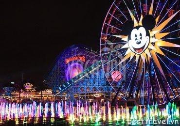 Tất tần tật về công viên Disneyland của Mỹ