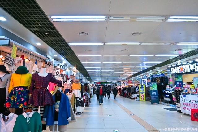 Khám phá các khu mua sắm dưới lòng đất nổi tiếng nhất ở Seoul