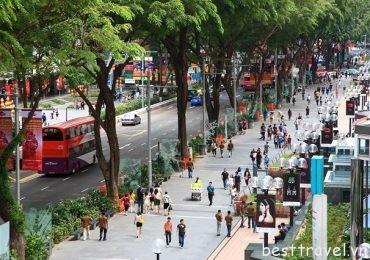 Orchard – con đường mua sắm lý tưởng nhất ở Singapore
