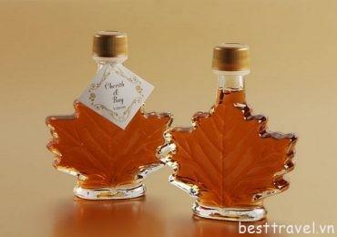 Siro lá phong – đặc sản độc đáo chỉ có tại Canada