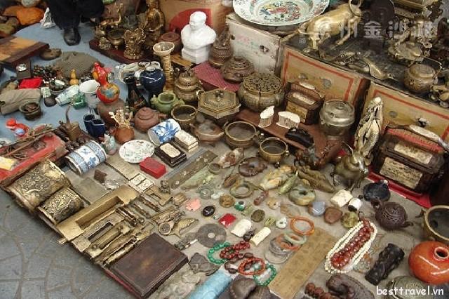 Ghé thăm những khu chợ đồ cổ nổi tiếng ở Bắc Kinh