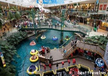 Những địa điểm mua sắm hàng đầu ở Canada