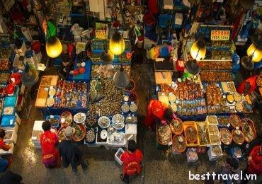 Noryangjin – khu chợ hải sản nổi tiếng ở Seoul