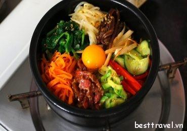Thực đơn món ăn Hàn Quốc dành cho người không ăn cay