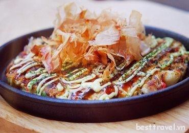 Thưởng thức các món ăn ngon khó cưỡng ở Osaka