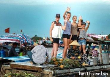 Ghé thăm Chợ nổi Cái Răng trong dịp Tết Âm Lịch 2019