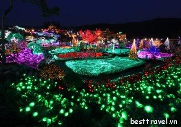 4 nơi tuyệt đẹp cho lễ hội ánh sáng quanh Seoul