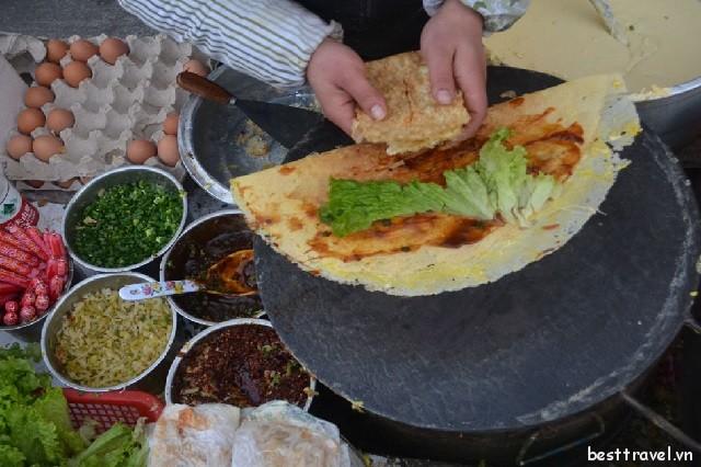 Thòm thèm với những món ăn đường phố vào mùa đông ở Trung Quốc