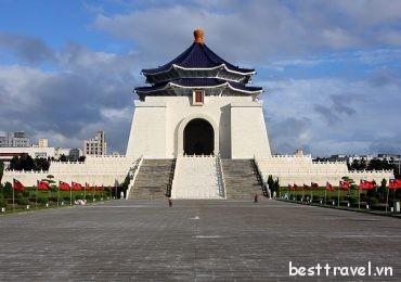 Khám phá đài tưởng niệm Tưởng Giới Thạch ở thành phố Đài Bắc