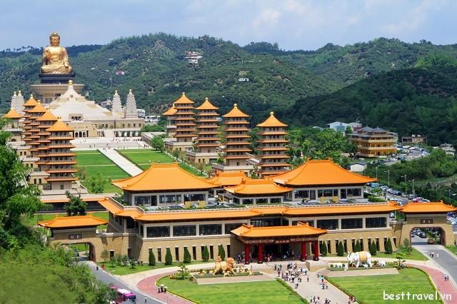 Tổng hợp những điểm du lịch tâm linh nổi tiếng nhất tại Đài Loan