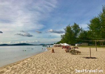 Tan chảy con tim trước bãi Ông Lang – Phú Quốc