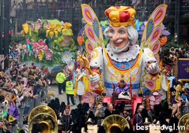 Những điều thú vị xung quanh lễ hội Mardi Gras ở Mỹ