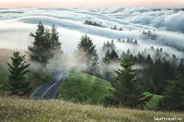 Đến San Francisco là phải chinh phục đỉnh núi cao nhất phía Bắc California