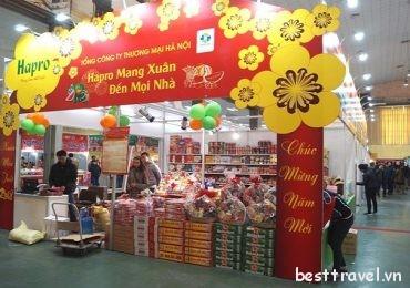 Mách bạn những hội chợ xuân nổi tiếng ở Hà Nội