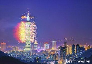 Ghé thăm những điểm đến nổi bật nhất thành phố Đài Bắc