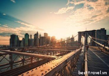 Những điểm ngắm hoàng hôn tuyệt đẹp ở New York