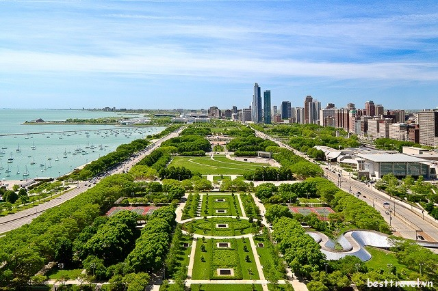 Top 3 công viên ấn tượng nhất ở Chicago