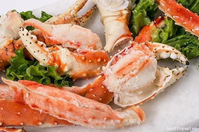 Khám phá các món ăn đặc trưng của thành phố Washington