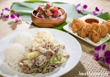Những món địa phương hấp dẫn phải thử khi đến Honolulu