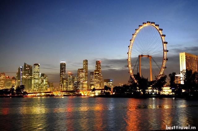 Tổng hợp các điểm vui chơi hàng đầu tại Singapore