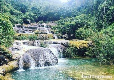 Ngắm vẻ đẹp mê mẩn của thác Mây