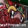Check-in những con đường nghệ thuật ấn tượng ở Bangkok